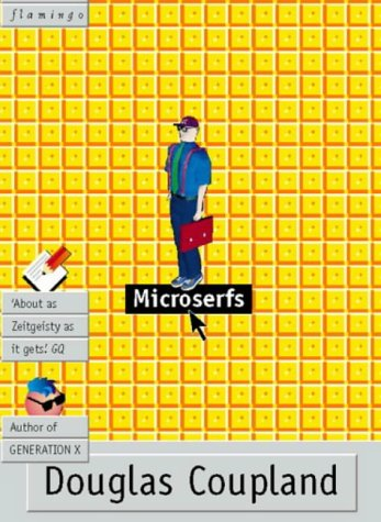 Microserfs cover by Douglas Coupland