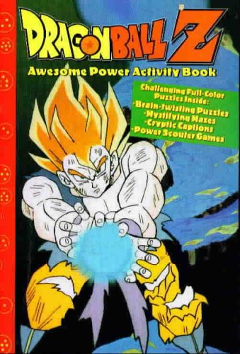 DRAGONBALL Z Awesome Power Activity Book
