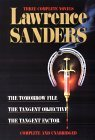 Sanders: Three Complete Novels: The Tomorrow File, The Tangent Objective, The Tangent Factor