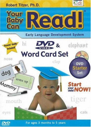Your Baby Can Read! DVD & Word Card Set: Early Language Development System [With Sliding Word and Picture CardsWith Non-Toxic Pen]