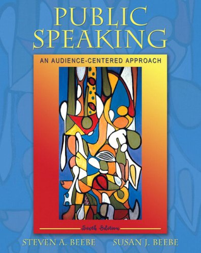 Public Speaking by Susan J. Beebe