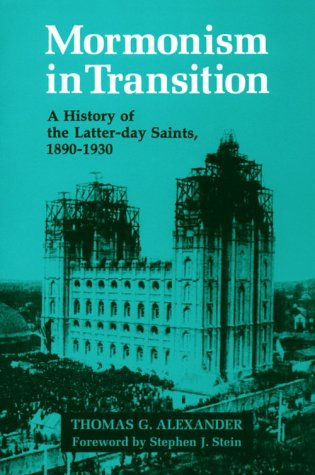 Mormonism in Transition: A History of the Latter-day Saints, 1890-1930