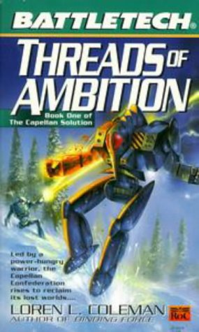 Threads of Ambition (The Capellan Solution, #1)