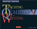 Teaching the Qualities of Writing [With CDROMWith Lesson CardsWith Teacher's Guide]