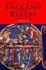 England and Its Rulers, 1066-1272: With an Epilogue on Edward I (1272 - 1307)