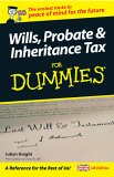 Wills, Probate And Inheritance Tax For Dummies (Uk Edition)
