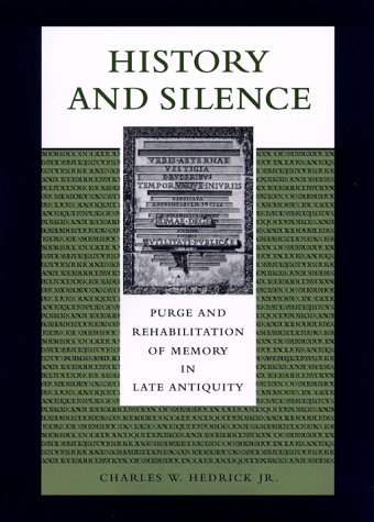 History and Silence by Charles W. Hedrick Jr.