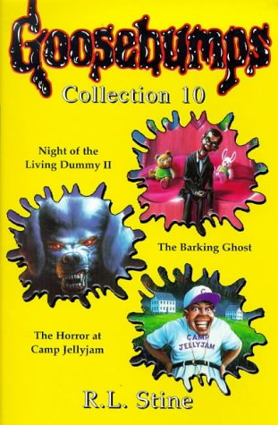 Goosebumps Collection #10 by R.L. Stine