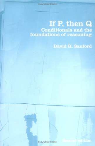 If P, then Q by David H. Sanford