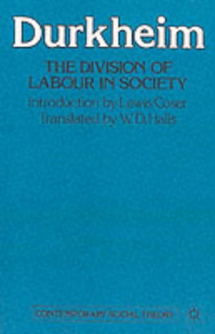 The Division Of Labour In Society