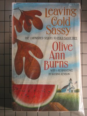 an analysis of the fictional novel cold sassy tree written by olive ann burns A fandom's worst nightmare: an analysis of the fictional novel cold sassy tree written by olive ann burns a creator dies before completing their work, an analysis of.