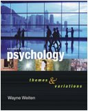 Featured Studies Reader for Weiten's Psychology: Themes and Variations