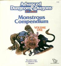 Monstrous Compendium by David Zeb Cook