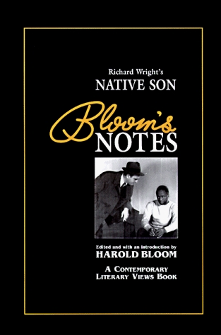 Richard Wright's Native Son (Bloom's Notes)