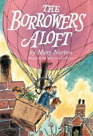 The Borrowers~Mary Norton 2001 Scholastic Printed USA Paper Back Book Lot Of 4