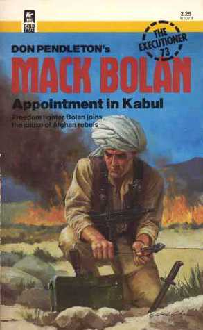 Appointment In Kabul by Stephen Mertz