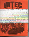"HiTEC (Histrionic Thought Experiment Cooperative) ""Systems Management"""