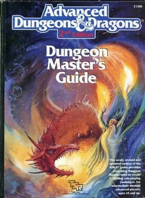 Dungeon Master's Guide (Advanced Dungeons & Dragons 2nd Edition, Stock #2100)