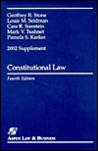 Constitutional Law 2002 Supplement