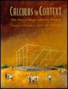 Calculus in Context: The Five College Calculus Project