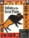 Indians of the Great Plains: Ancient and Living Cultures Stencil Book