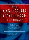 The Oxford College Dictionary