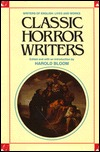 Classic Horror Writers by Harold Bloom