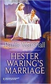 Hester Waring's Marriage by Paula Marshall