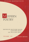Modern Poetry (English Masterpieces, Volume 7)