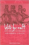 Witchcraft and Society in England and America, 1550d1750