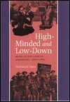 High-Minded and Low-Down by Nicholas E. Tawa