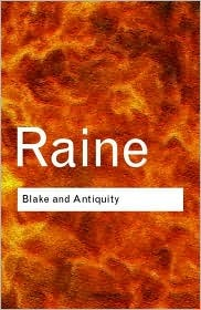Blake and Antiquity by Kathleen Raine