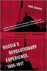 Russia's Revolutionary Experience, 1905-1917: Two Essays