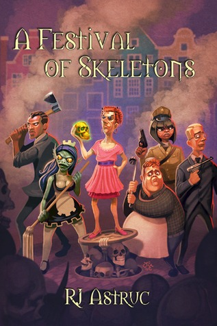 A Festival of Skeletons by R.J. Astruc