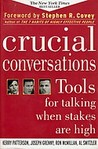 Crucial Conversations by Kerry Patterson