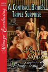 A Contract Bride's Triple Surprise  (Bride Train, #2)