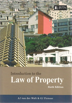 introduction to the law of property van der walt pdf