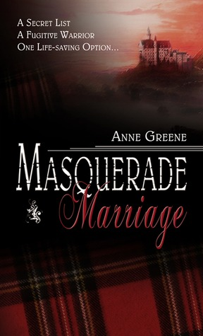 Masquerade Marriage by Anne Greene