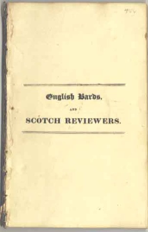 English Bards And Scotch Reviewers