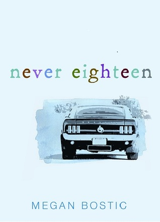 Never Eighteen by Megan Bostic