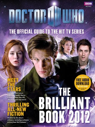 The Brilliant Book Of Doctor Who 2012 by Clayton Hickman