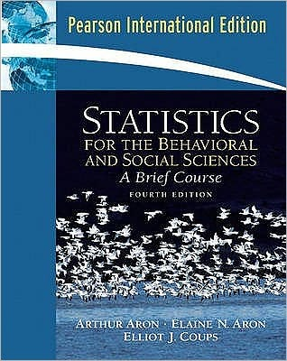 Statistics for the Behavioral and Social Sciences: A Brief Course