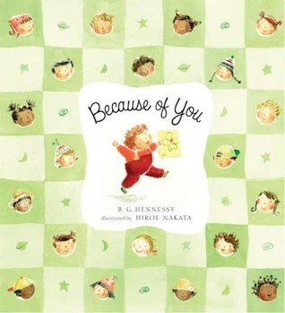 Because of You by B.G. Hennessy