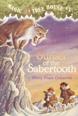 Sunset of the Sabertooth by Mary Pope Osborne