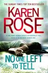 No One Left to Tell (Romantic Suspense, #13; Baltimore, #2)