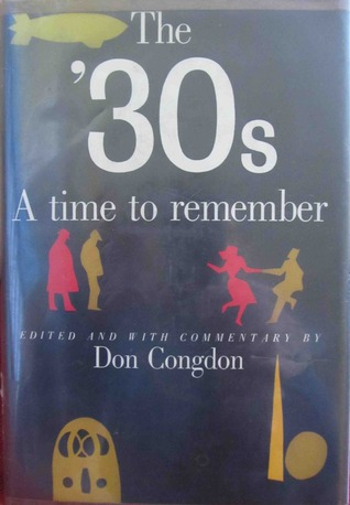The 30's by Don Congdon