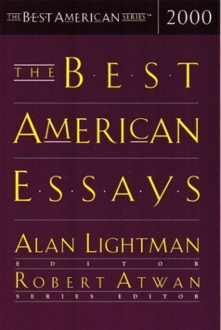 The Best American Essays 2000 by Robert Atwan