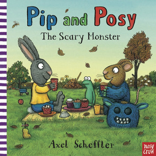 The Scary Monster by Axel Scheffler
