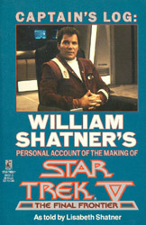 Captain's Log by William Shatner