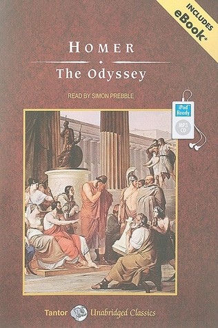 The Odyssey, with eBook by Homer